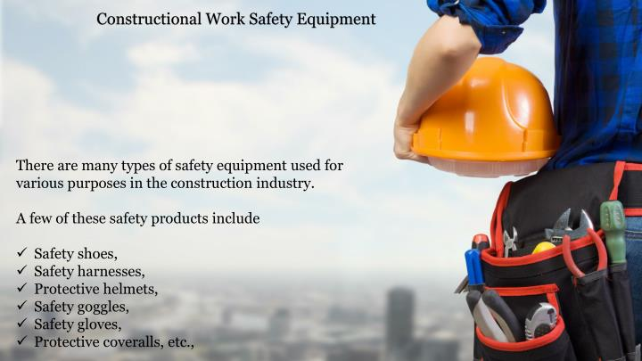 Constructional Work Safety Equipment