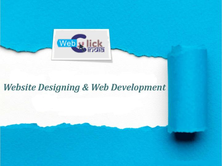 What are the different types of web designing services