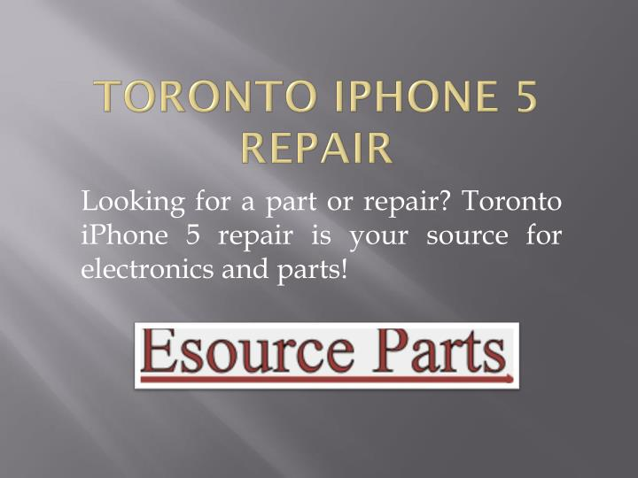 Toronto iPhone 5 Repair