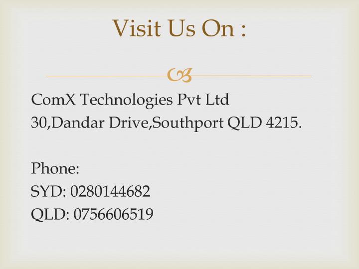 Visit Us On :