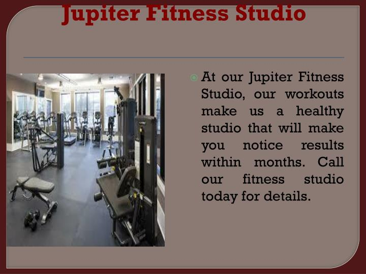 Jupiter Fitness Studio