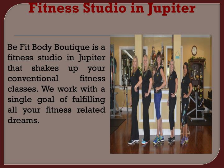 Fitness Studio in Jupiter