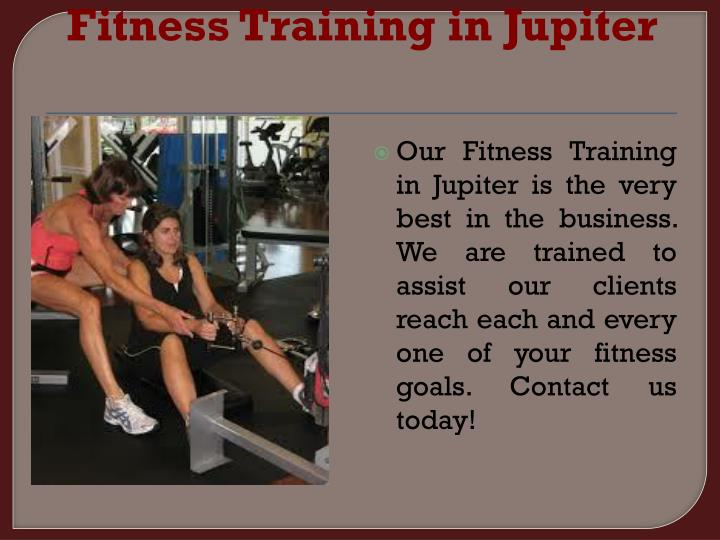 Fitness Training in Jupiter