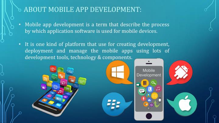 ABOUT MOBILE APP DEVELOPMENT: