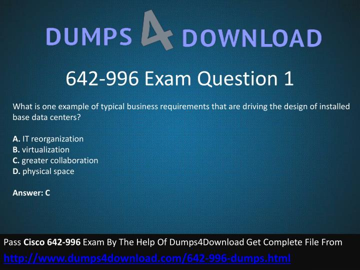 642-996 Exam Question 1
