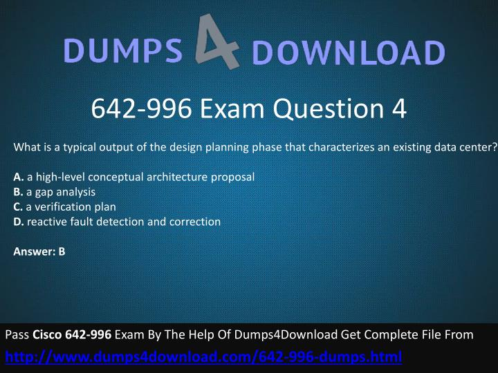 642-996 Exam Question 4