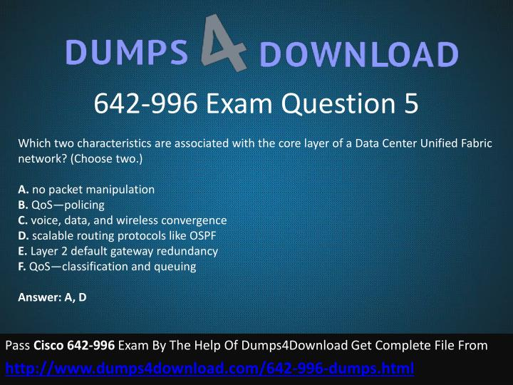 642-996 Exam Question 5