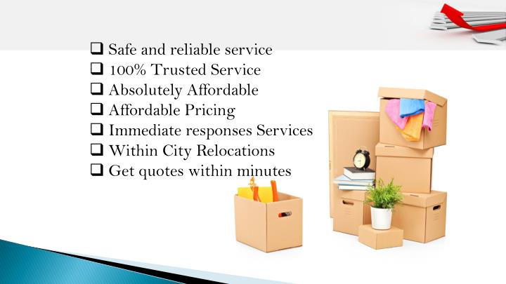 Safe and reliable service