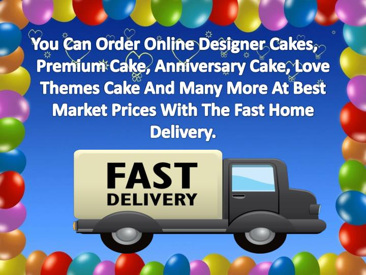 You Can Order Online