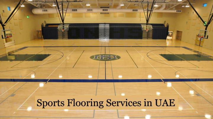 Sports Flooring Services in UAE