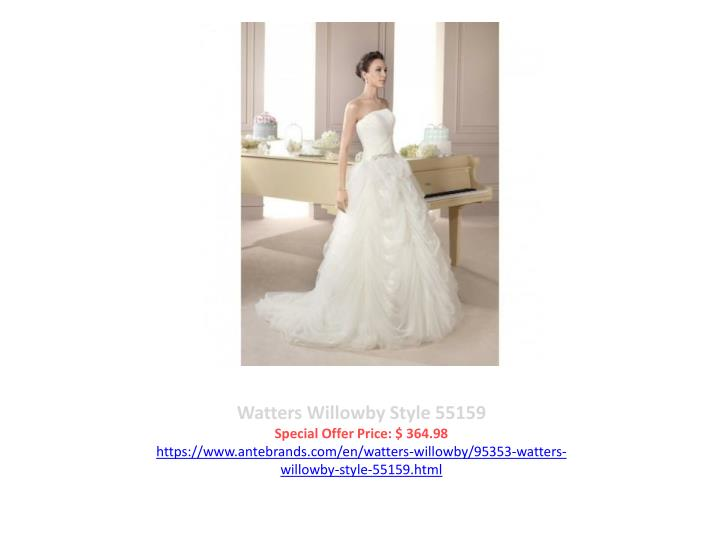 Watters Willowby Style 55159