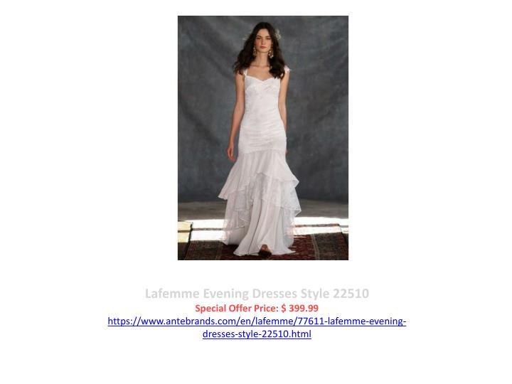 Lafemme Evening Dresses Style 22510