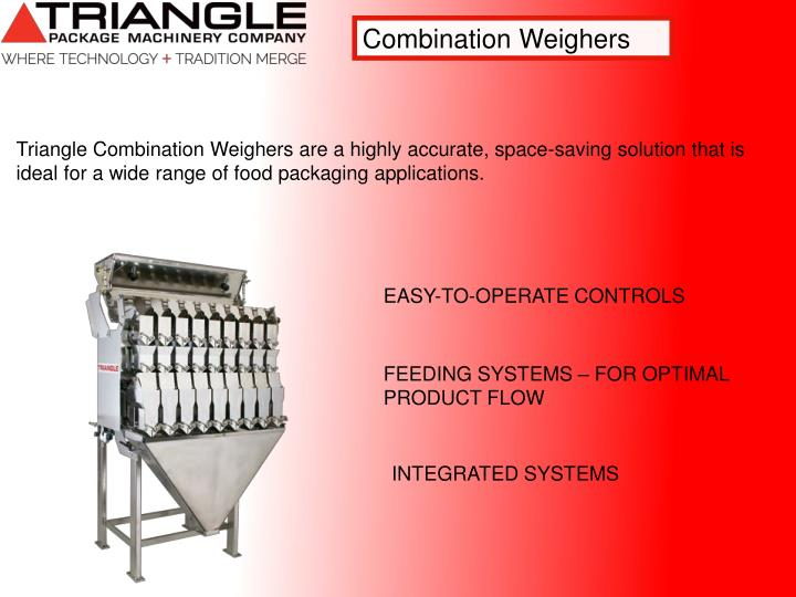 Combination Weighers
