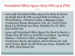 furnished office space near nh 24 fng