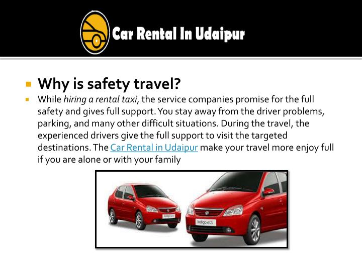 Why is safety travel?
