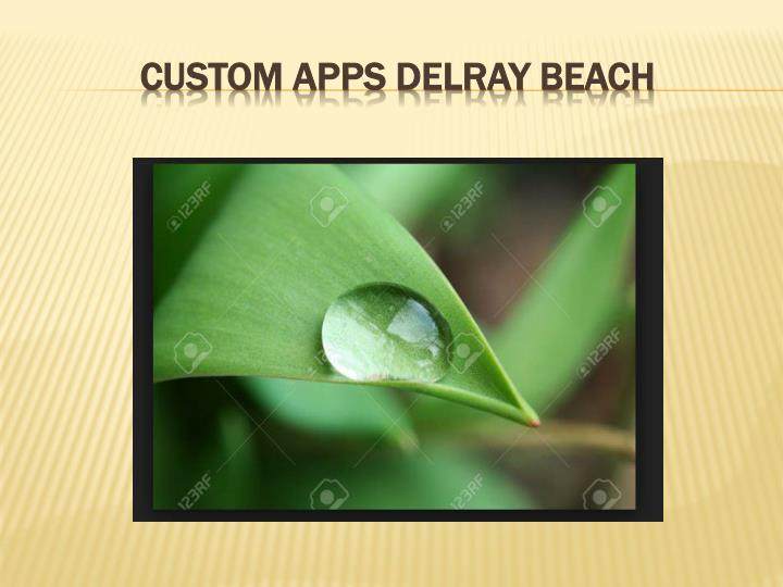 Custom Apps Delray Beach