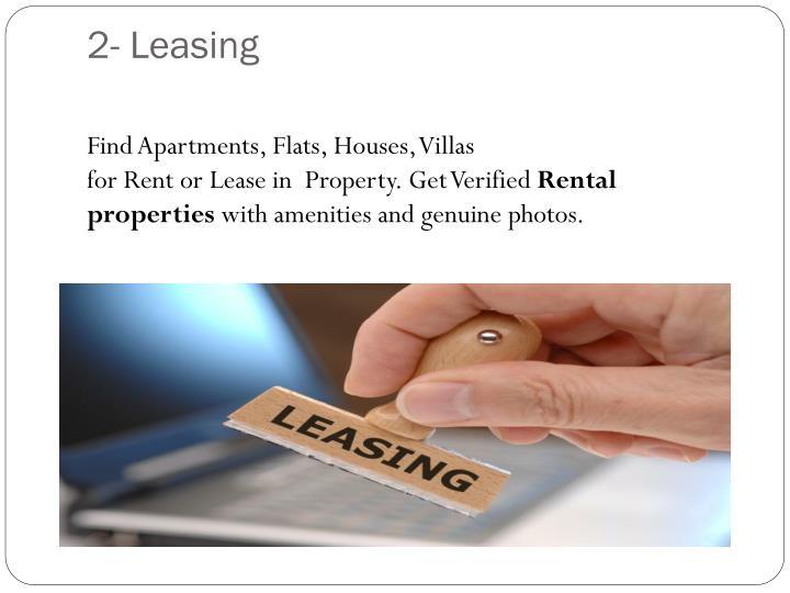 2- Leasing