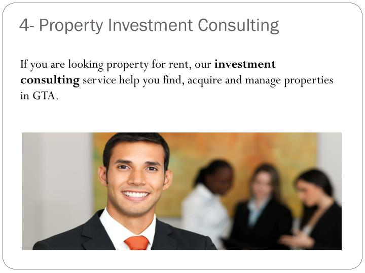 4- Property Investment Consulting