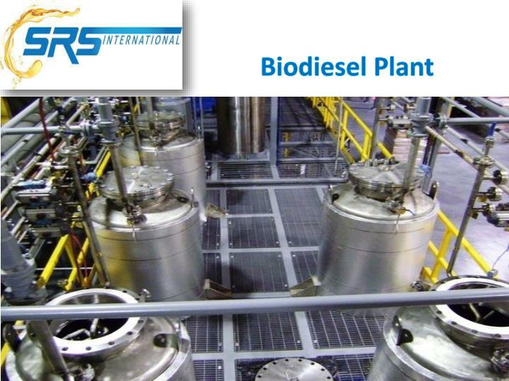 Biodiesel Plant