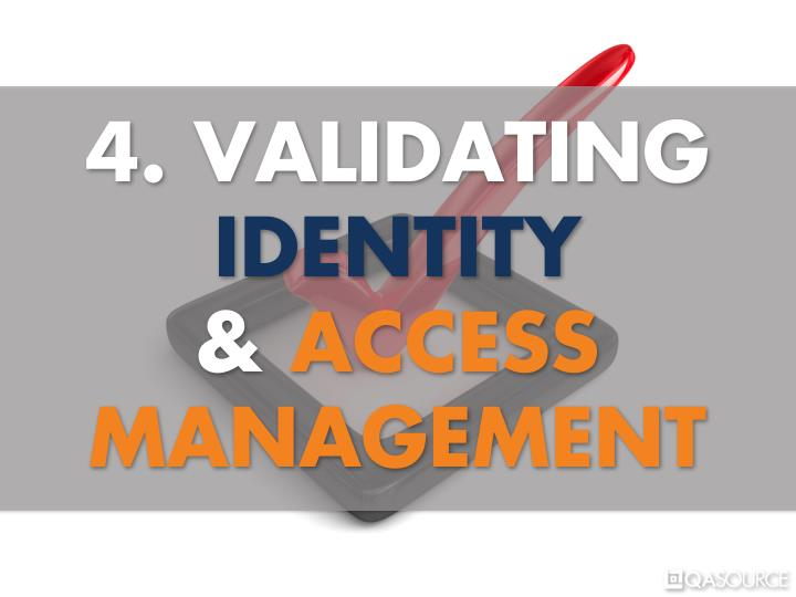 4. VALIDATING