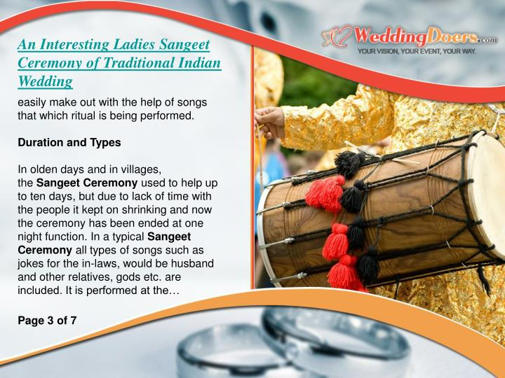 An Interesting Ladies Sangeet Ceremony of Traditional Indian Wedding