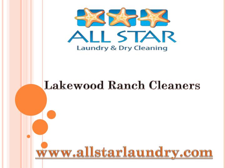 Lakewood Ranch Cleaners