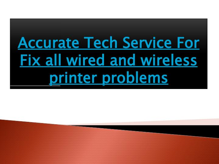 Accurate Tech Service For