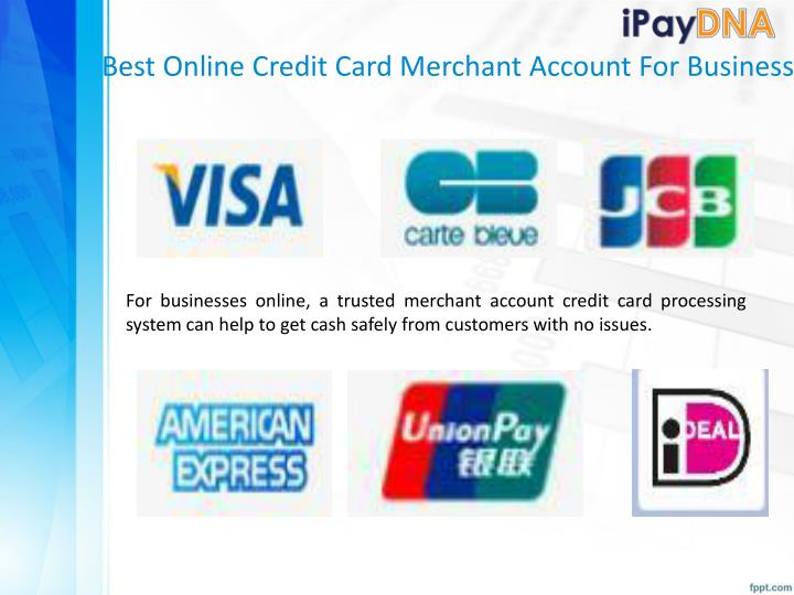 Best Online Credit Card Merchant Account For Business