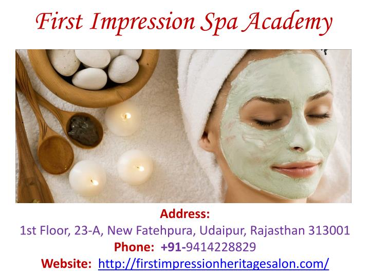 First impression spa academy