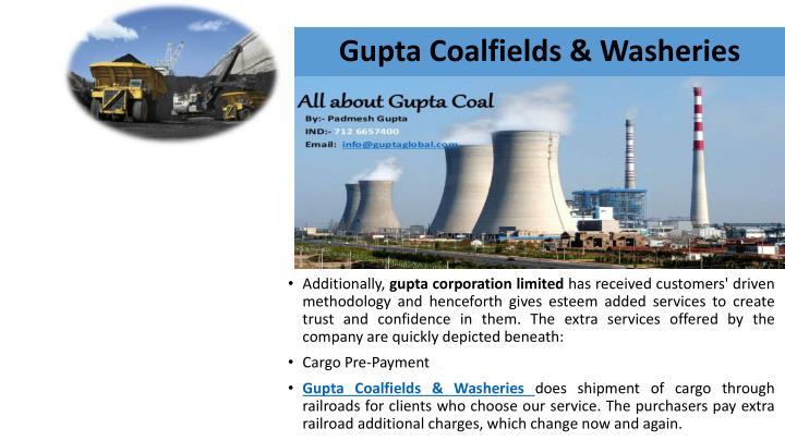 Gupta Coalfields &