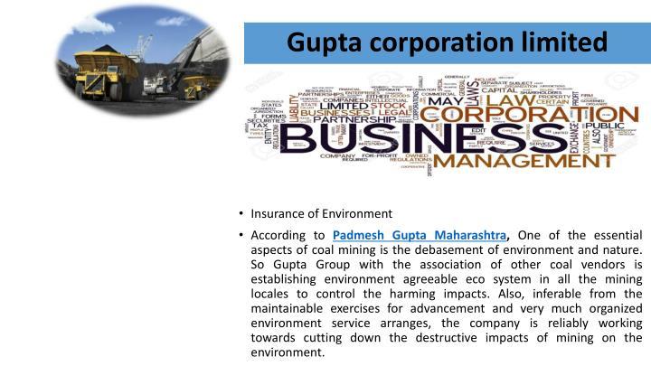 Gupta corporation