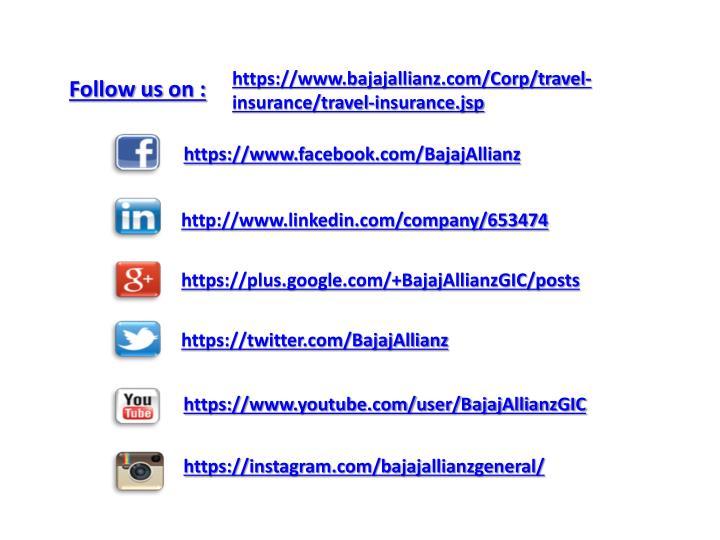 https://www.bajajallianz.com/Corp/travel-insurance/travel-insurance.jsp