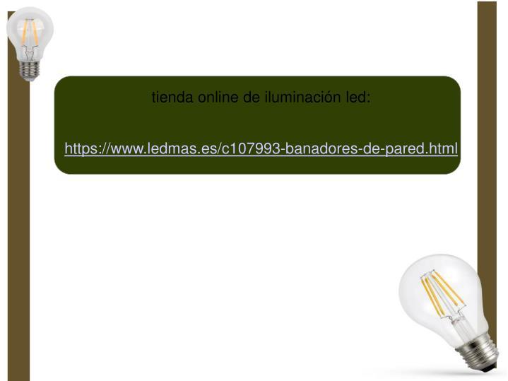 tienda online de iluminación led: