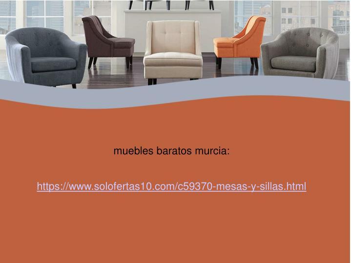muebles baratos murcia: