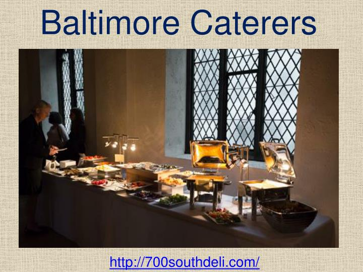 Baltimore Caterers
