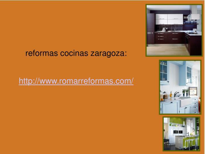reformas cocinas zaragoza: