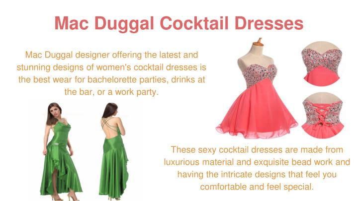 Mac Duggal Cocktail Dresses