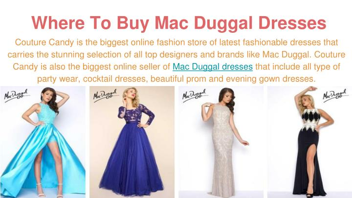 Where To Buy Mac Duggal Dresses