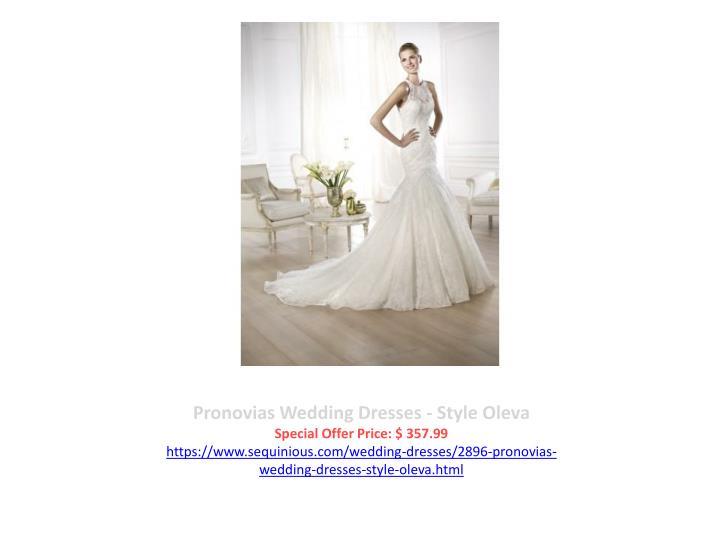 Pronovias Wedding Dresses - Style Oleva