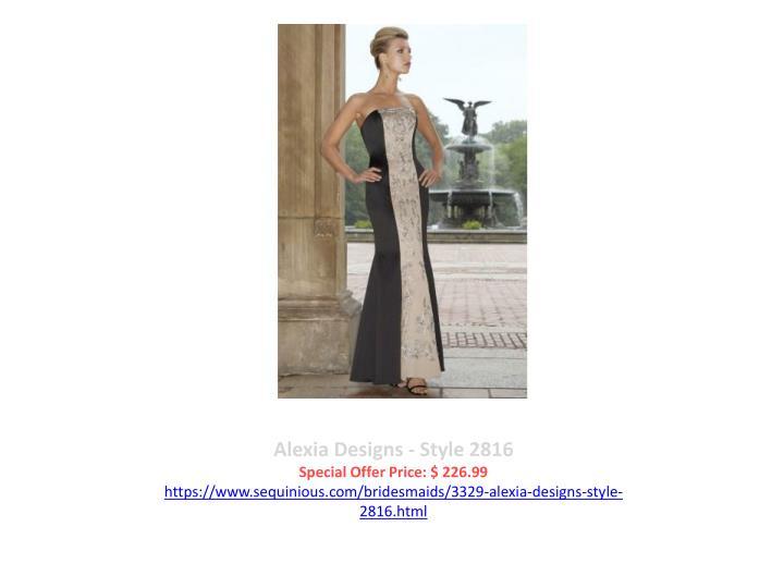 Alexia Designs - Style 2816