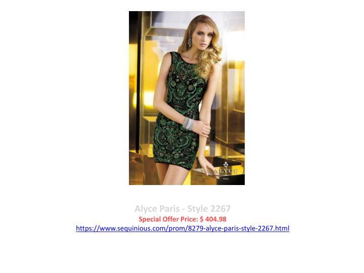 Alyce Paris - Style 2267