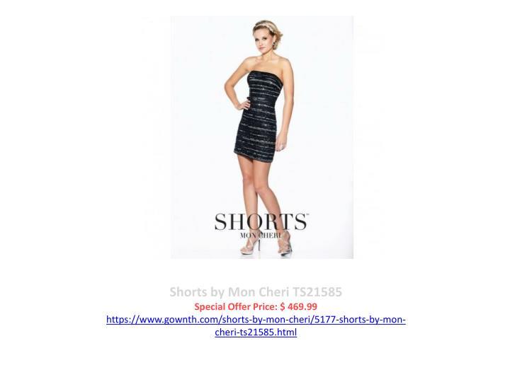 Shorts by Mon Cheri TS21585