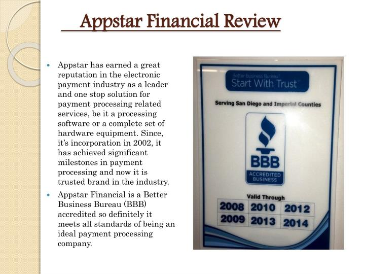 Appstar financial review