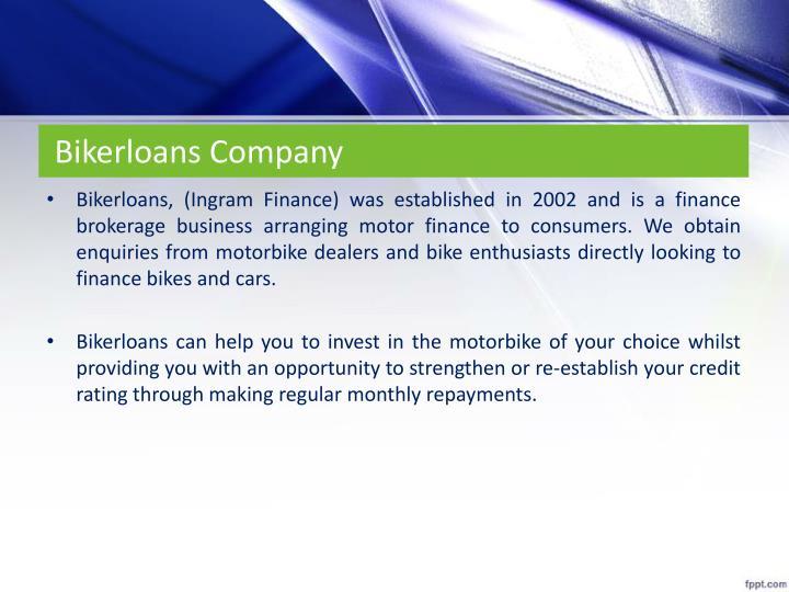 Bikerloans Company