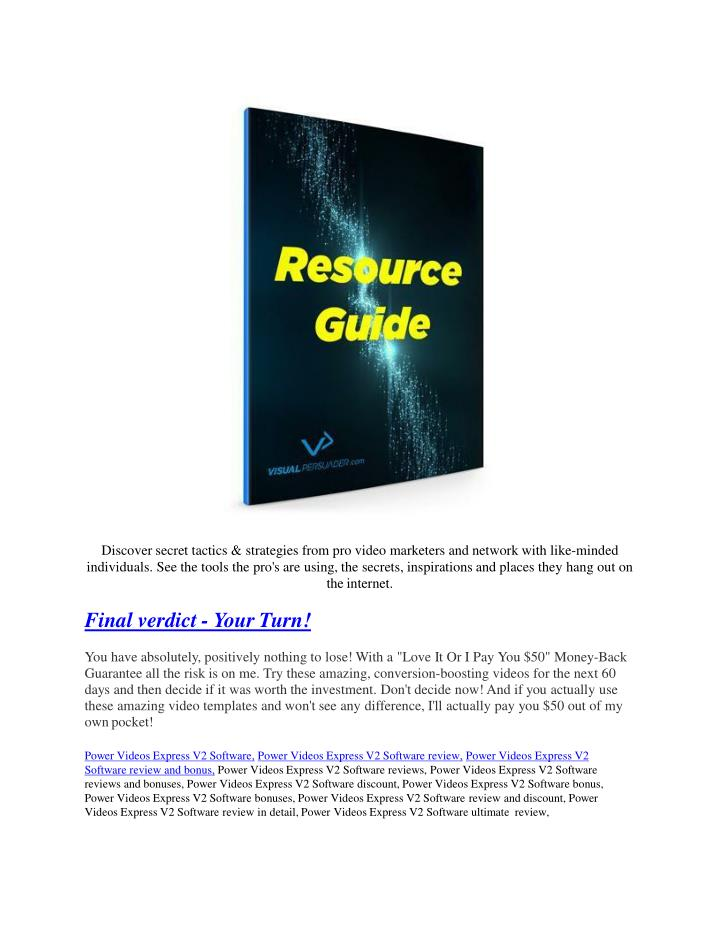 Discover secret tactics
