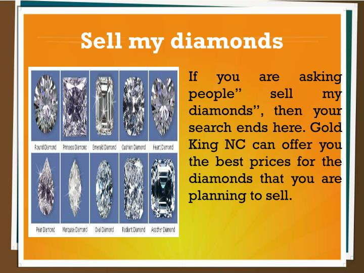 Sell my diamonds