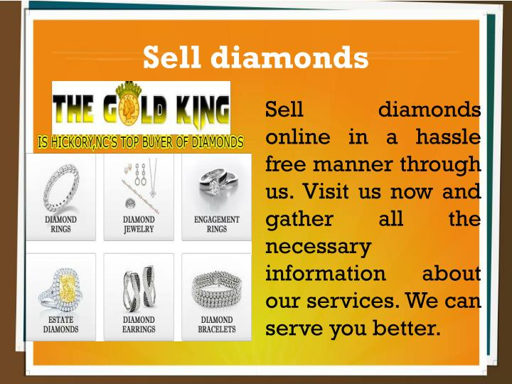 Sell diamonds