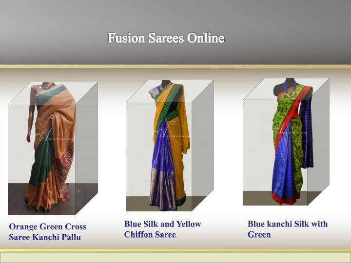 Fusion Sarees Online