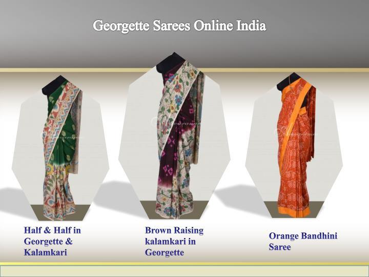 Georgette Sarees Online India