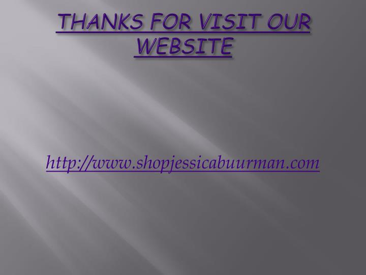 THANKS FOR VISIT OUR WEBSITE
